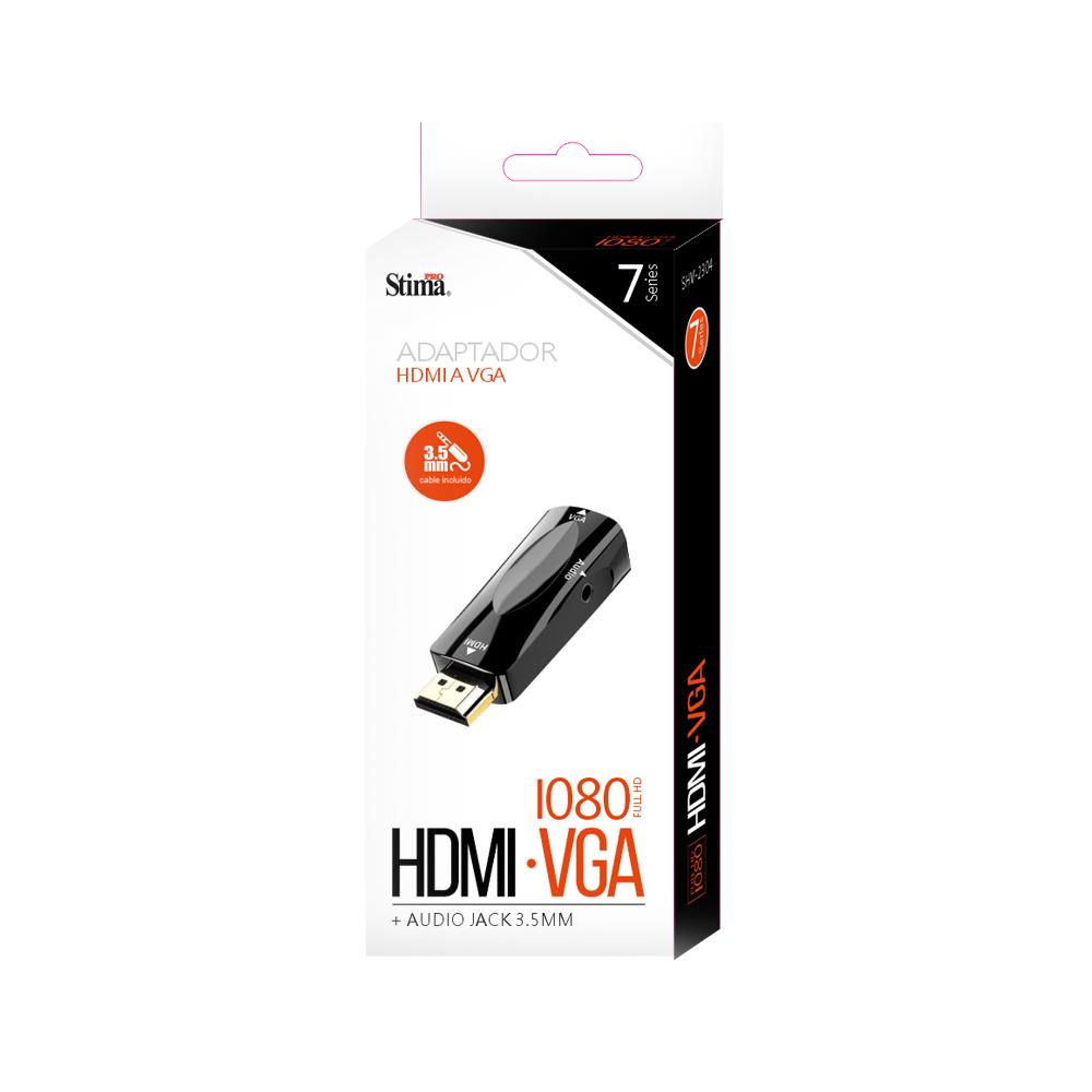 Adaptador HDMI a VGA  SHV-2304  Serie 7
