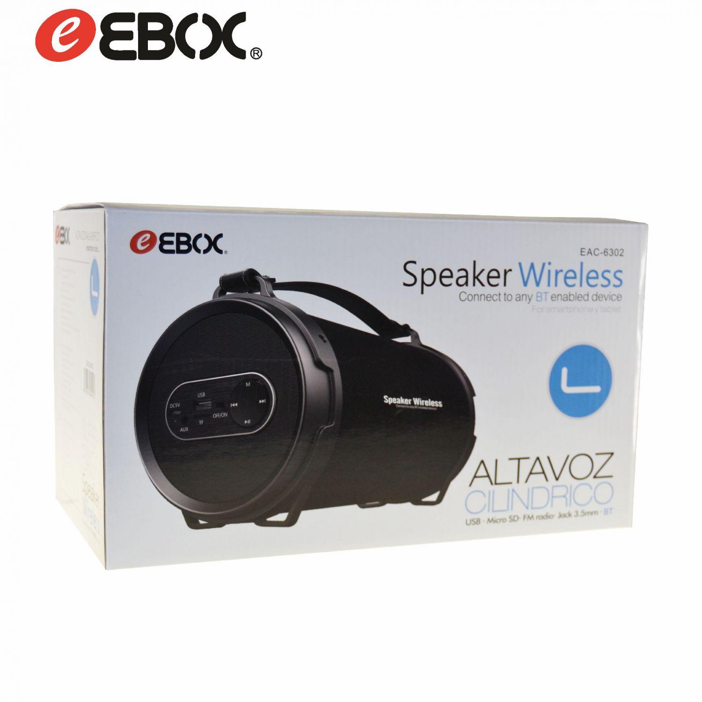 Altavoz Bluetooth Multimedia USB/MicroSD/AUX EAC6302
