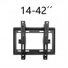 Soporte TV de Pared Articulado Inclinable y Giratorio para Pantallas de 14-42 Pulgadas, hasta 25 kg  V35