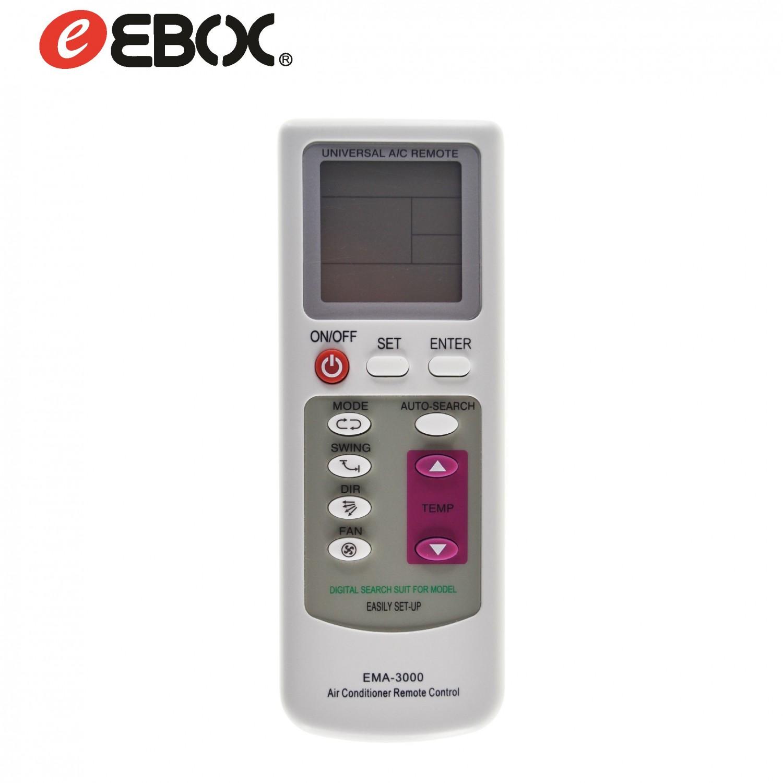 Mando Universal para Aire Acondicionado EMA3000