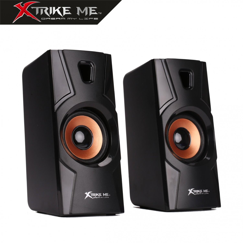 Altavoces Xtrike-Me Gaming 2.0 Sonido Estéreo 2x3W SK401