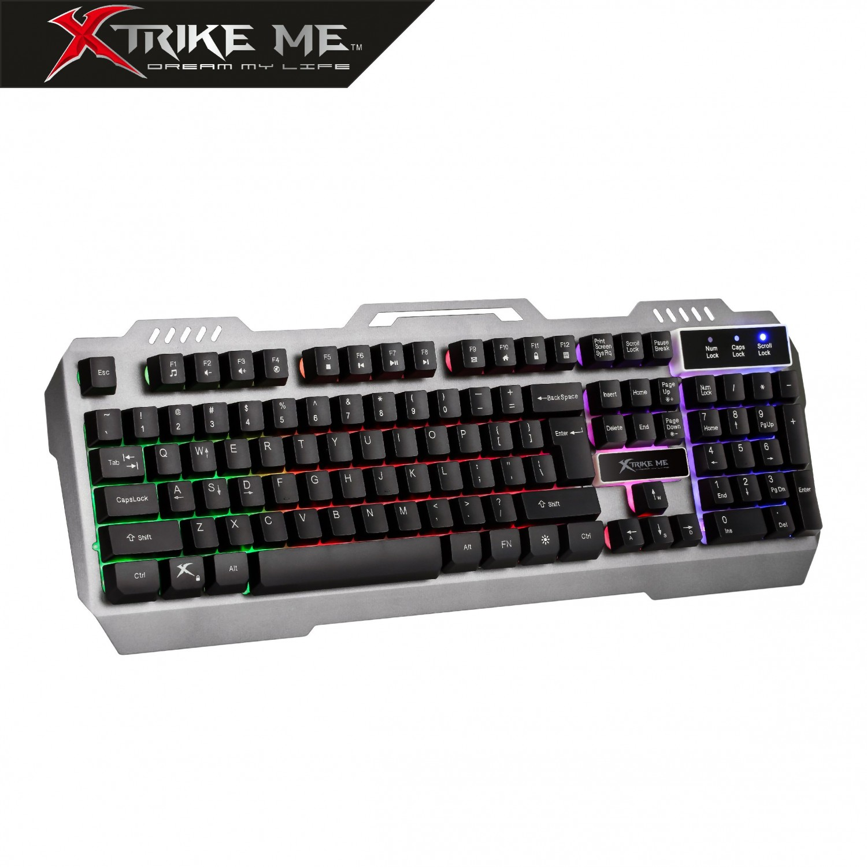 Teclado Gaming Retroiluminado Multimedia KB505