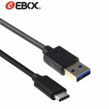 Cable USB TIPO-C a USB Macho v3.0 de 2 metros STC8013