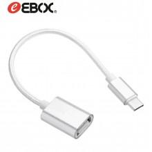 Cable USB TIPO-C OTG a USB Hembra v2.0 de 20 cm EOG8308
