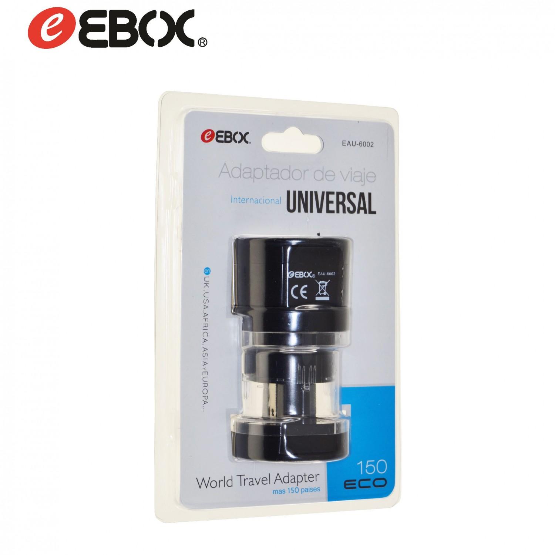 Adaptador de Enchufe Universal de Viaje 110v/250v EAU6002