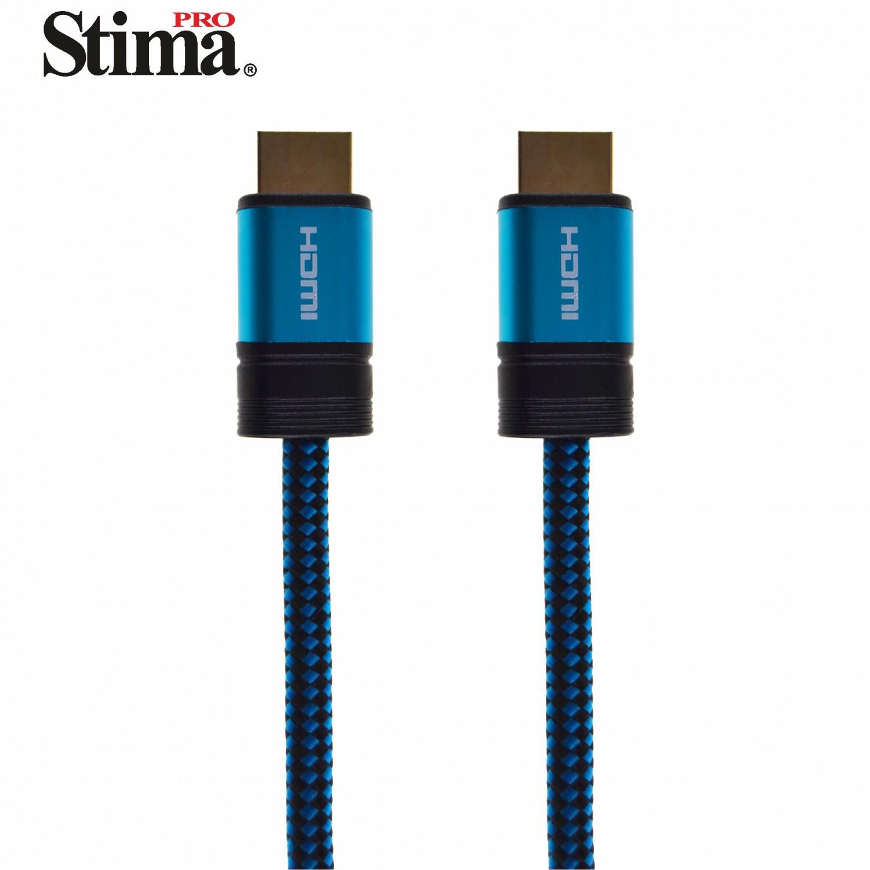 Cable HDMI Macho/Macho v1.4 3D/4K de 1.5 metros Nylon EHD4015