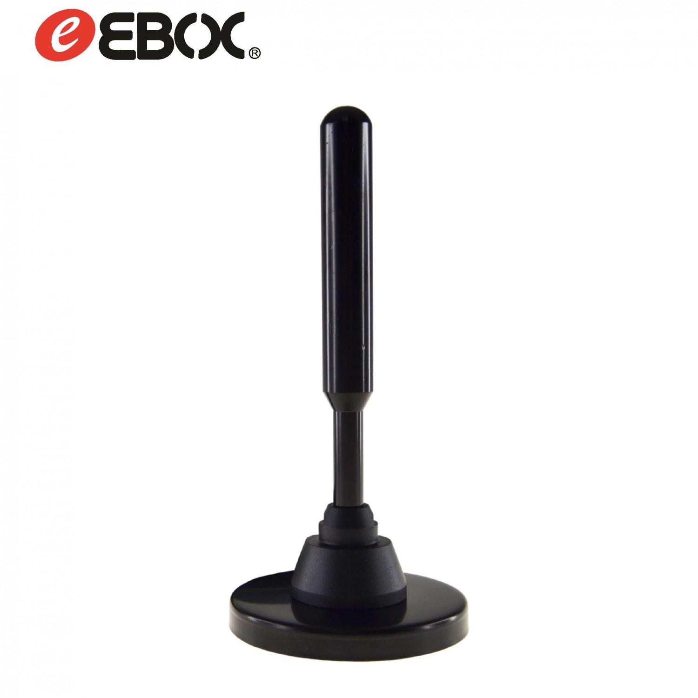 Antena DVB-T Interior/Exterior Pasiva 28dB Magnética EAT1103