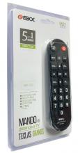 Mando a Distancia Universal para TV Multimarca EMD-8400