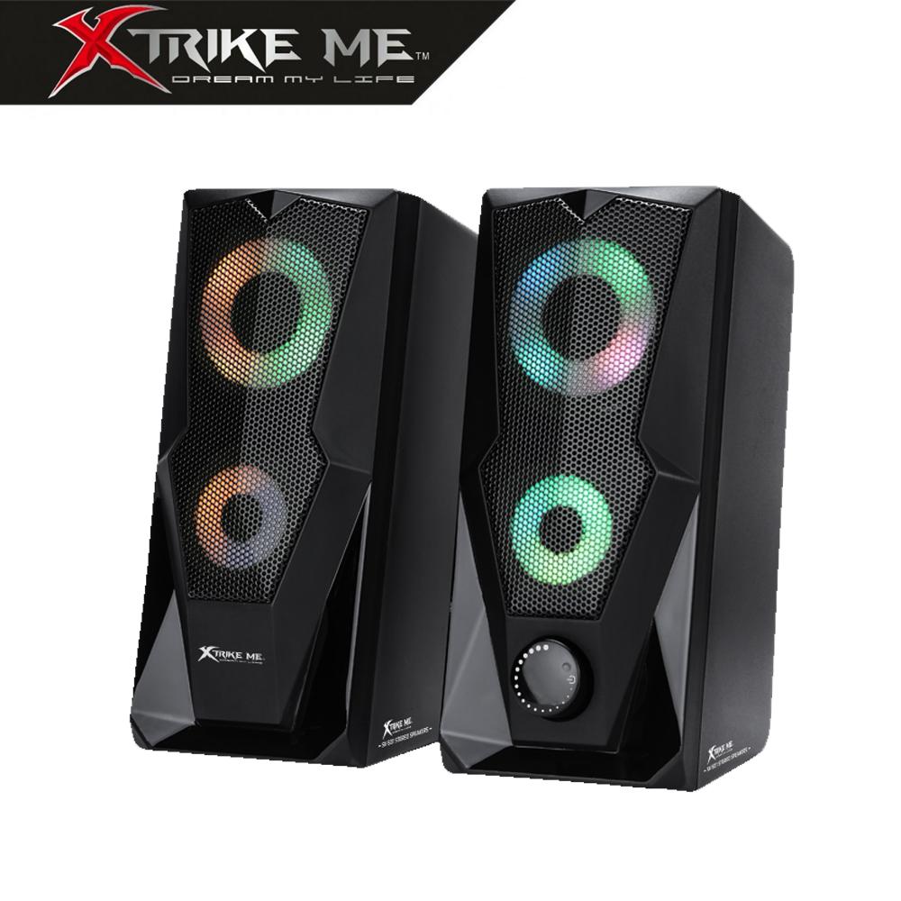Altavoces Xtrike-Me Gaming 2.0 Sonido Estéreo 2x3W SK501BK