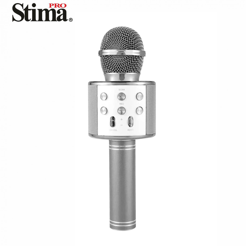 Micrófono Bluetooth Karaoke con Altavoces USB/MicroSD SKA8810