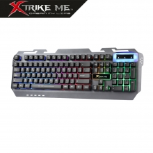 Teclado Gaming Retroiluminado Multimedia KB - 406